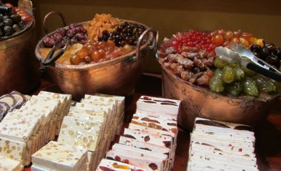Nougat and candied fruit, foodies in Provence