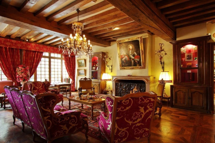 Luxury 5 star hotel in Beaune Burgundy