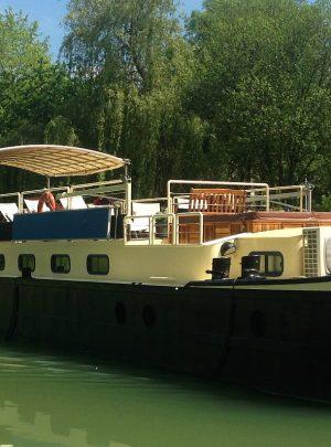 River barge cruise Burgundy France