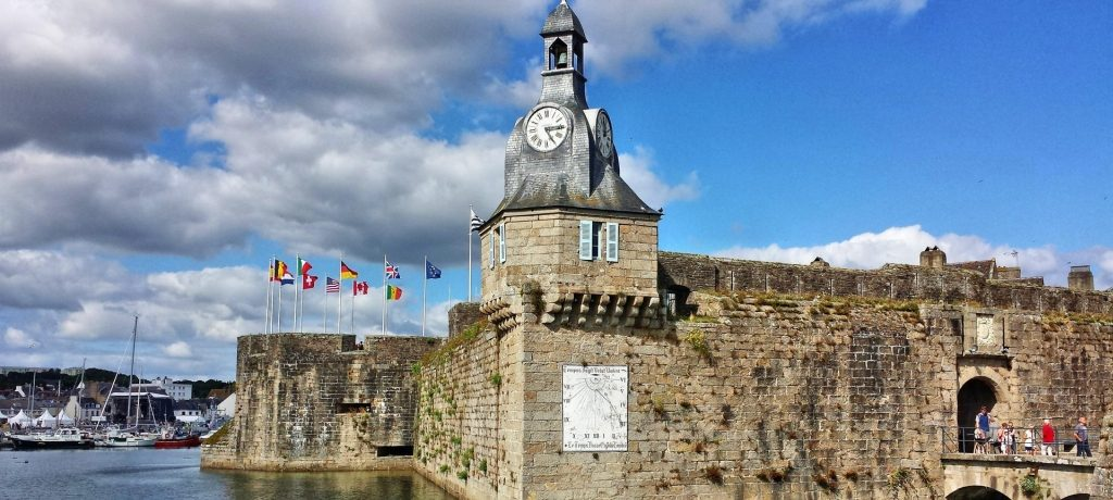 Concarneau in Brittany NW France