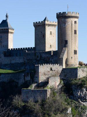 Chateau de Foix in Ariege