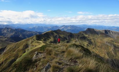 Hiking on an active break in the Pyrenees