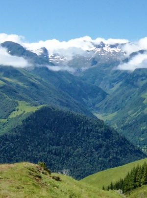 Hiking on active holiday in Pyrenees