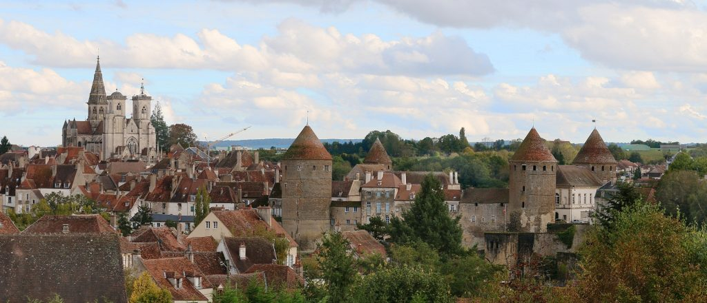 Semur en Auxois Burgundy Eastern France
