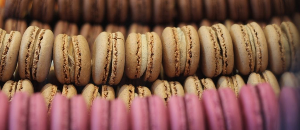 Macarons are a classic sweet in France