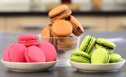 Learn to make traditional macarons in a Bordeaux patisserie class
